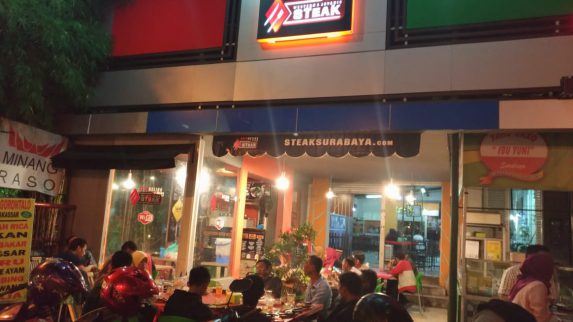 Western and Javanis Steak Surabaya Restaurant